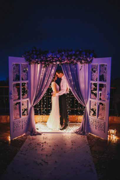 Освещение свадьба
